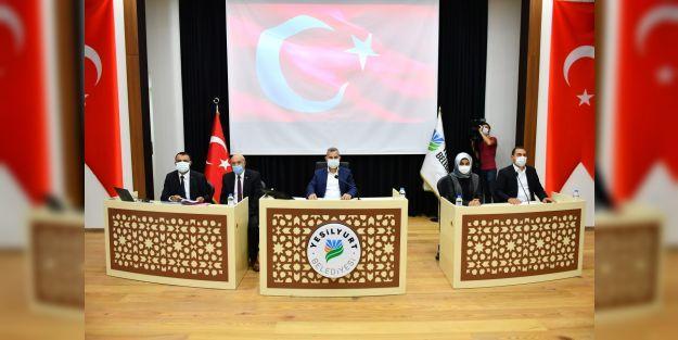 Yeşilyurt Belediye Meclisi Ekim ayı çalışmalarına başladı