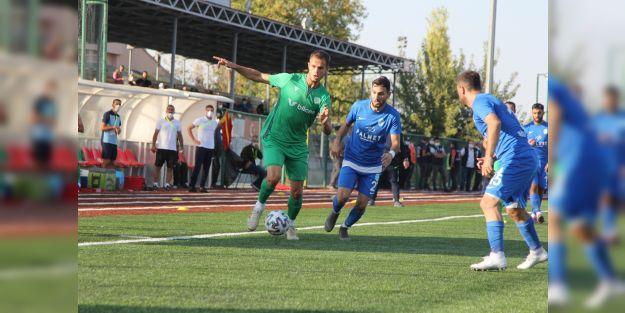 Yeşilyurt Belediyespor 3 puanı son saniyede aldı