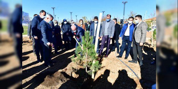 24 Kasım Yeşilyurt Öğretmenler Ormanı oluşturuldu
