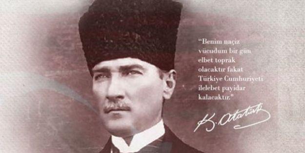 Atatürk'ün aramızdan ayrılışının 82.Yıl dönümü