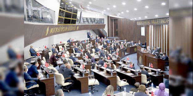 Büyükşehir Belediye Meclisi çalışmalarını sürdürüyor