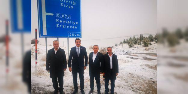 Milletvekili Tüfenkci, Arapgir İlçesi'ne ziyarette bulundu