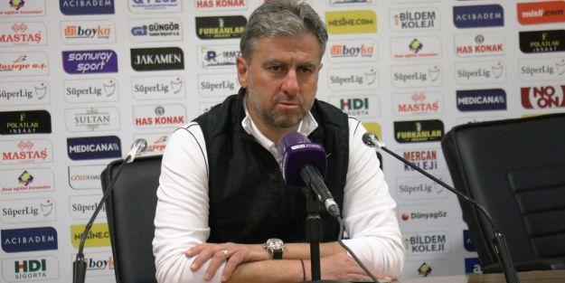 """'Alanyaspor'a karşı alınan bir puan da benim için kıymetlidir"""""""