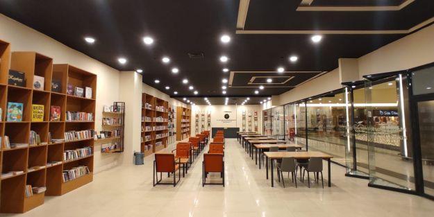 AVM'ye kütüphane açılacak