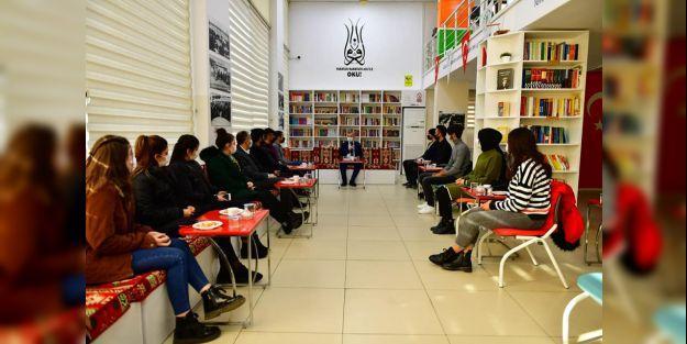 Başkan Çınar, gençlerle bir araya geldi