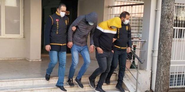 Büyükşehir'in Malzemesini Çalan Hırsızlar Yakalandı