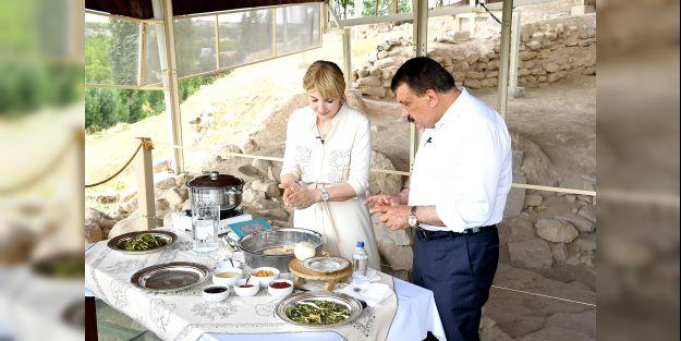 Malatya yemekleri TV programında tanıtıldı