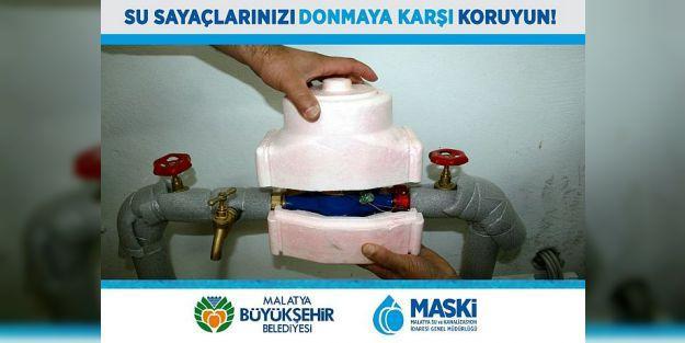 MASKİ'den Su Sayaçları İçin Don Uyarısı
