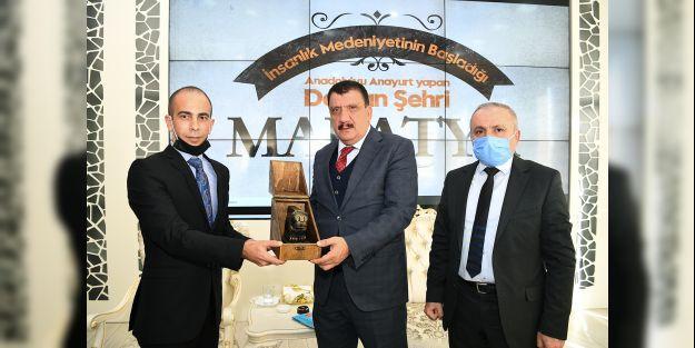 Türkiye İnternet Gazeteciler Federasyonu'nda Başkan Gürkan'a ziyaret