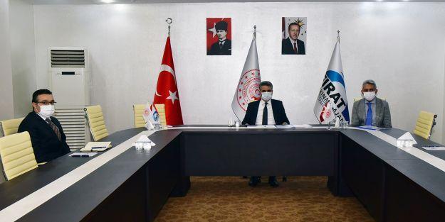 Vali Baruş, FKA 2020 faaliyetleri hakkında bilgiler aldı