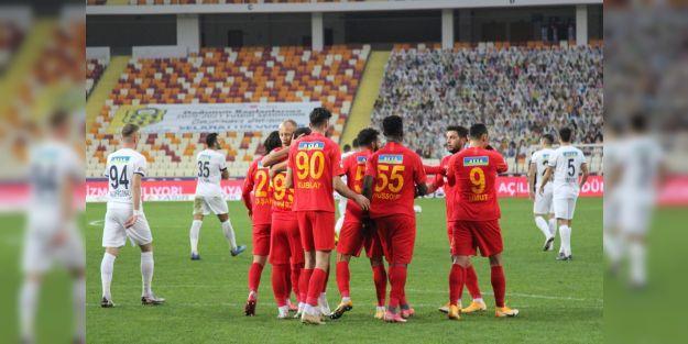 Yeni Malatyaspor'un çıkışı sürüyor