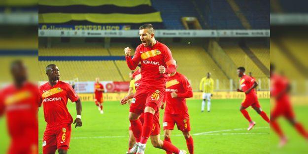 YMS, Fenerbahçe'yi deplasmanda ilk kez yendi