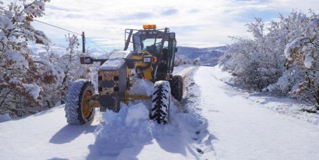 138 köy yolu ulaşıma açıldı