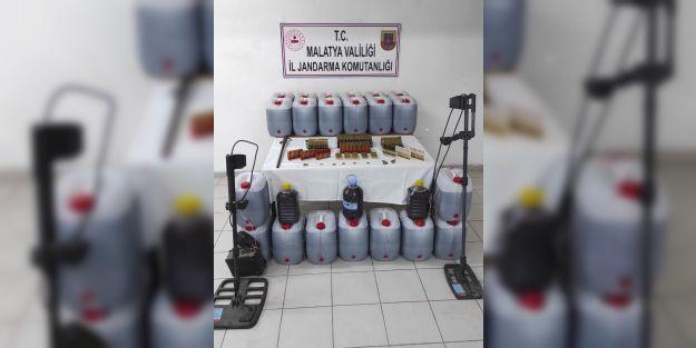 481 litre kaçak içki ele geçirildi