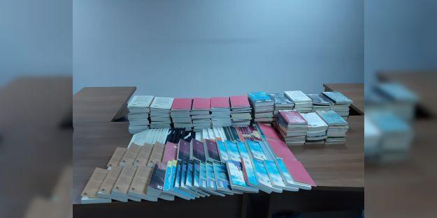 Bandrolsüz 212 adet kitap ele geçirildi