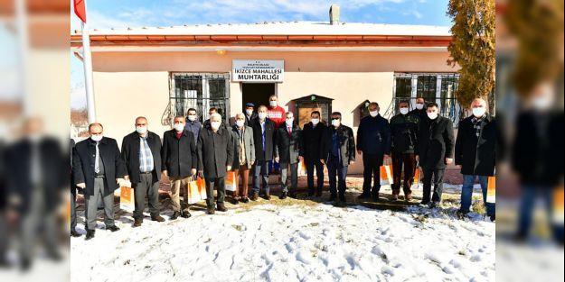 Başkan Çınar, muhtarlardan sorun ve talepleri dinledi