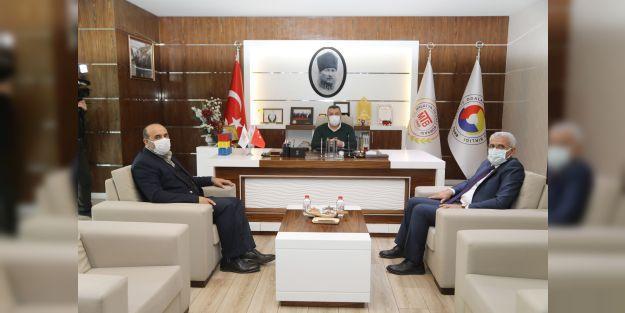 Başkan Güder'den MTB'ye ziyaret