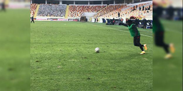 Fatih Terim saha zemini eleştirdi