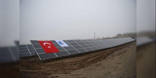 Kale'deki Güneş Enerjisi Santrali açıldı