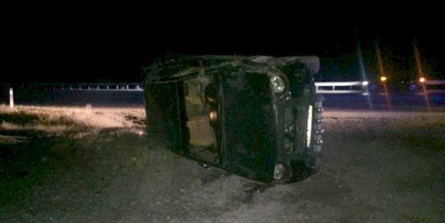 Karanlıkdere'de kaza, 3 yaralı..