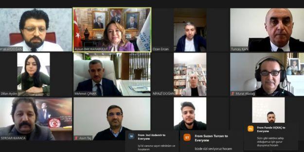 MTÜ Battalgazi MYO'nun Bu Haftaki Konuğu Yeşilyurt Belediye Başkanı Mehmet Çınar'dı
