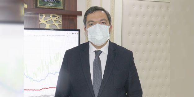Prof.Dr. Bentli '9 binin üzerinde sağlık çalışanının ilk doz aşısı yapıldı'