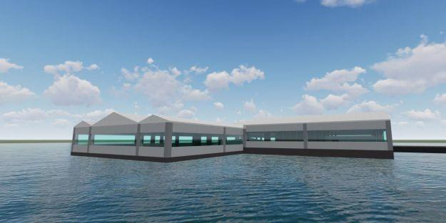 'Su Üstü Yüzen Restoran' projesinde imzalar atıldı