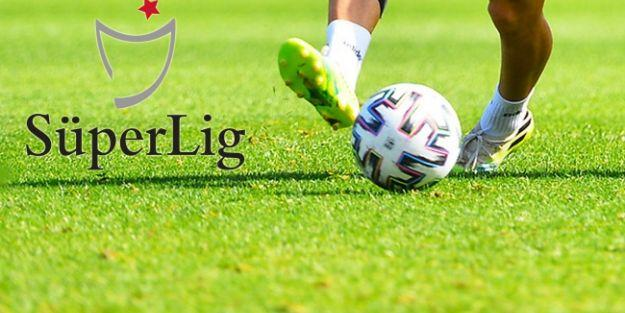 Süper Lig'de 8 haftalık program açıklandı