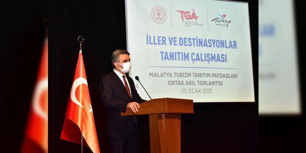 'Turizm Tanıtım Paydaşları Ortak Akıl Toplantısı' Malatya'da düzenlendi