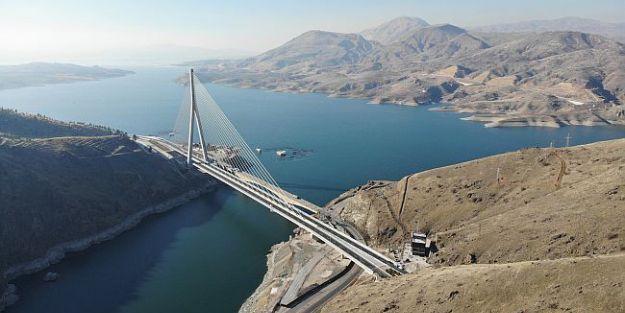 Yeni Kömürhan Köprüsü'nün açılışı yapıldı