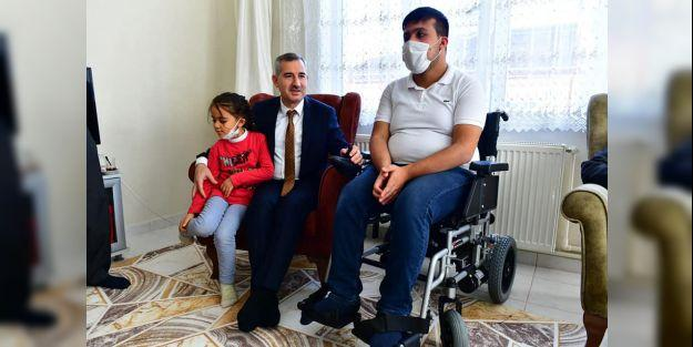 Engelliler için 92 adet akülü araç teslim edildi