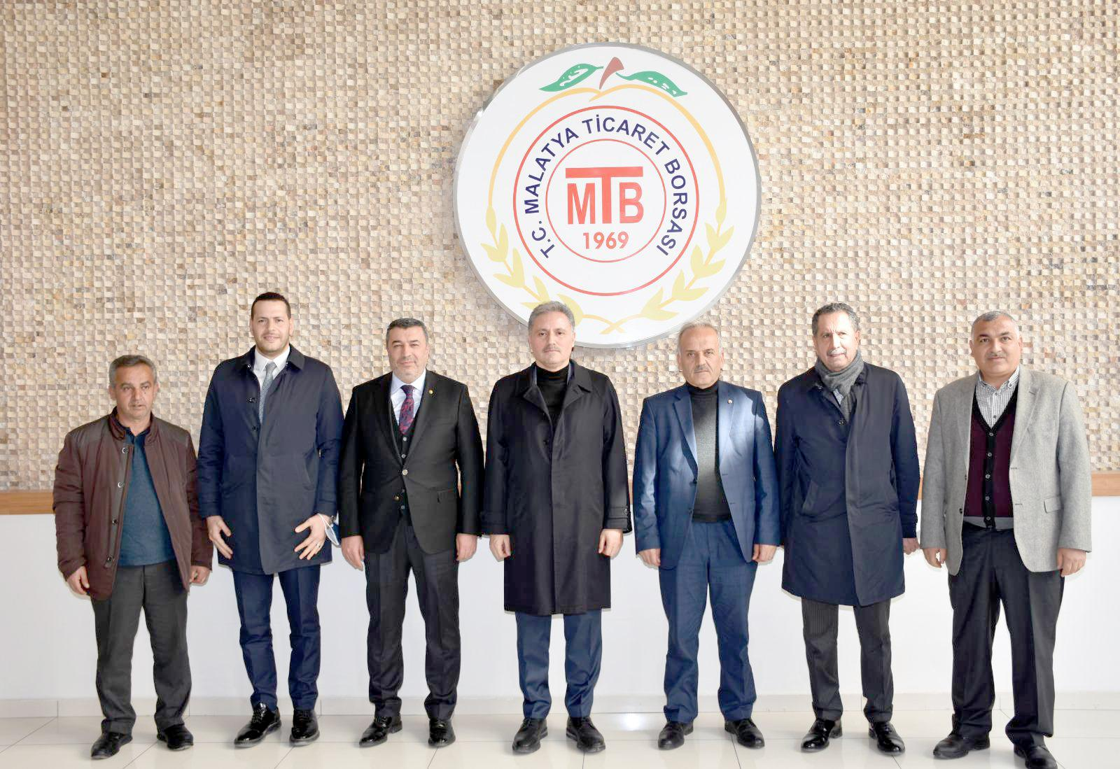 Milletvekili Çakır Malatya Ticaret Borsası'nı ziyaret etti
