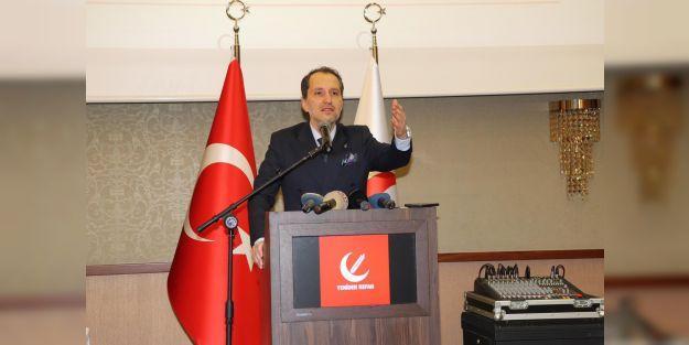 Yeniden Refah Partisi İl Başkanları toplantısı Malatya'da yapıldı