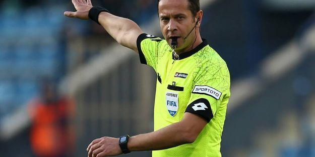 YMS-BJK maçını Halis Özkahya yönetecek