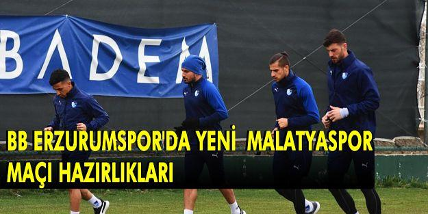 BB Erzurumspor'da Hazırlıklar Sürüyor