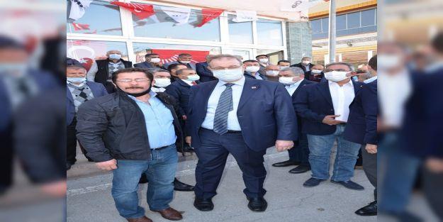 CHP Ekonomi Masası Heyeti, Darende'de sorun dinledi