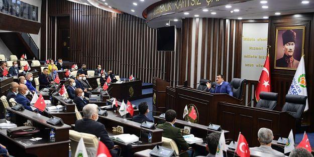 Gürkan, Belediye Çalışanlarıyla İstişare Toplantısı Yaptı