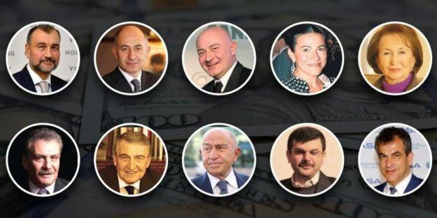 İşte en zengin 10 Türk... Erman lıcak İkinci Sırada