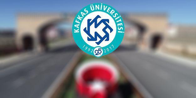 Kafkas Üniversitesi Sözleşmeli Personel Alım İlanı