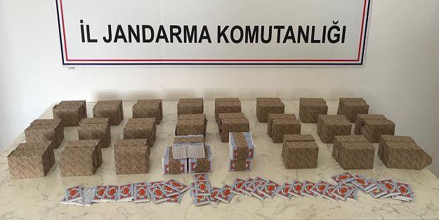 Malatya'da 2 bin 250 Deste Bandrolsüz Sigara Kağıdı Yakalandı