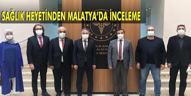 Malatya'daki Salgın İle İlgili İstişarelerde Bulunuldu