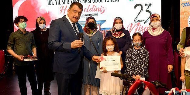 Şiir yarışması ödülleri dağıtıldı