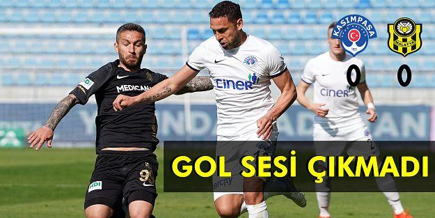 Süper Lig: Kasımpaşa: 0 - Yeni Malatyaspor: 0