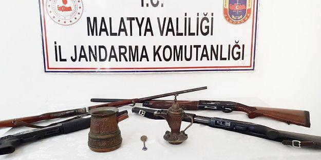 Tarihi eser kaçakçılığı operasyonu:2 gözaltı