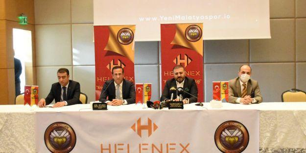 Yeni Malatyaspor, Helenex iş birliği toplantısı Yapıldı