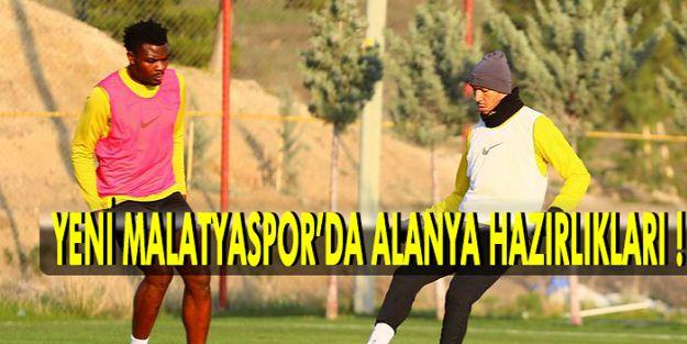 YeniMalatyaspor, Alanyaspor maçının hazırlıklarına başladı