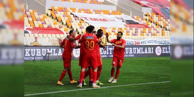 YeniMalatyaspor ligde 13 maç sonra kazandı