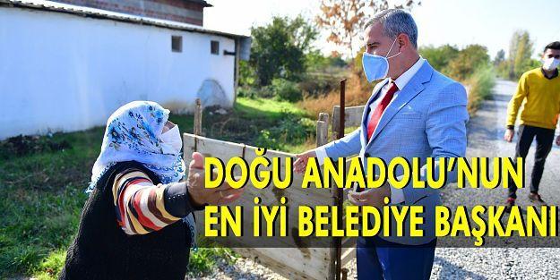 Yeşilyurt Belediye Başkanı Mehmet Çınar Doğu Anadolu'nun En İyi Belediye Başkanı Seçildi