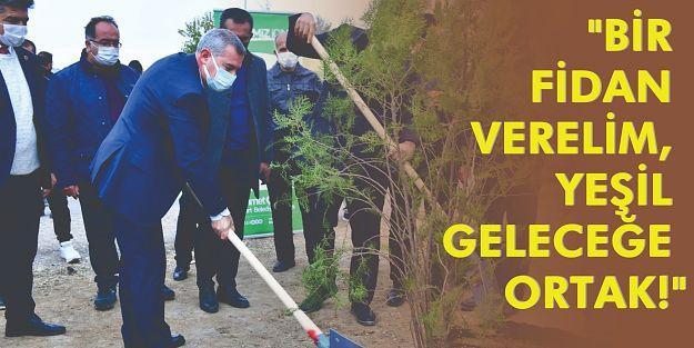 """'Yeşilyurt'umuz, Yeşil Alanlarıyla Örnek Bir İlçedir"""""""