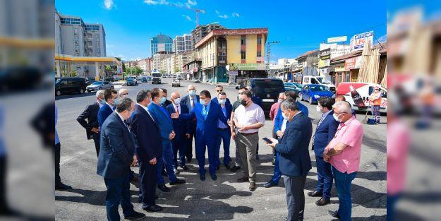 Büyükşehir Sanayi Kavşağını Yeniden Düzenliyor